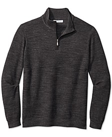 Men's Break Line Quarter-Zip Sweater