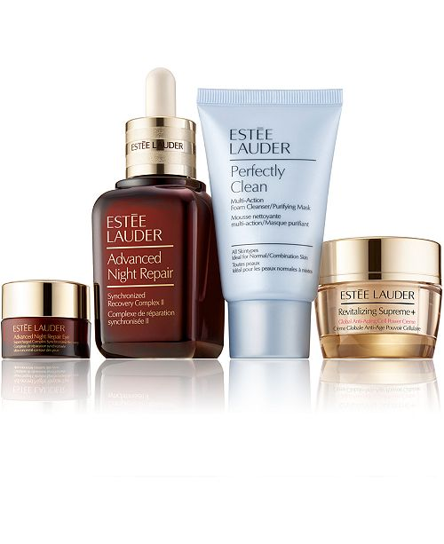 Estee Lauder 4-Pc. Repair + Renew For Radiant-Looking Skin Set