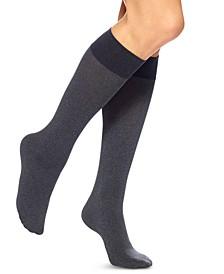 Women's Soft Opaque Knee High Trouser Socks