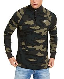 Men's Jirgi Quarter-Zip Camo Sweatshirt
