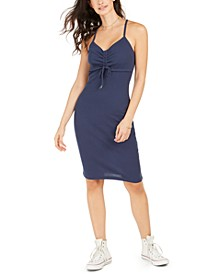 Juniors' Wave Dreamer Ribbed Bodycon Dress