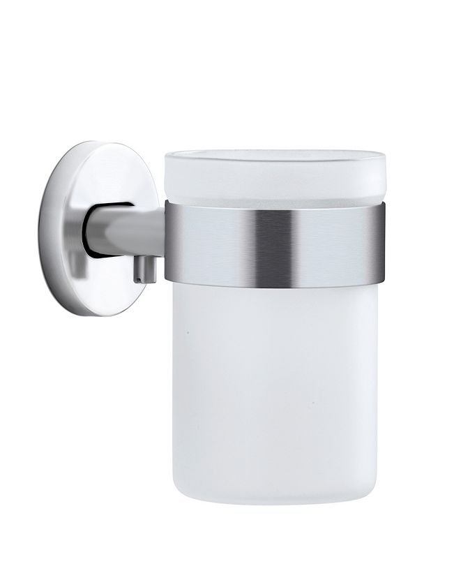 blomus Wall Mounted Toothbrush Holder Frosted Glass