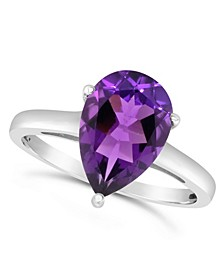 Amethyst (2-5/8 ct. t.w.) Ring in Sterling Silver. Also Available in Citrine (2-5/8 ct. t.w.)