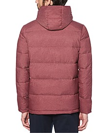 Men's Heathered Puffer Jacket