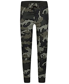 Big Boys Camo-Print Dri-FIT Solar Pants