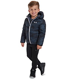 Little Boys Reversible Pronto Puffer Hooded Jacket