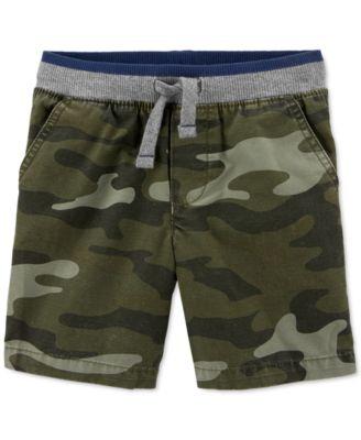 Carter/'s Big Boys Plaid Flat-Front Shorts New