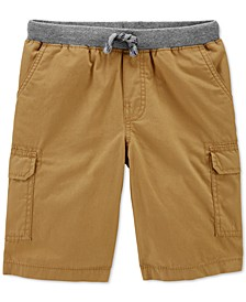 Little & Big Boys Cotton Pull-On Cargo Shorts