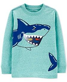Toddler Boys Shark Long-Sleeve T-Shirt