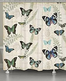 Flutters Fern Shower Curtain
