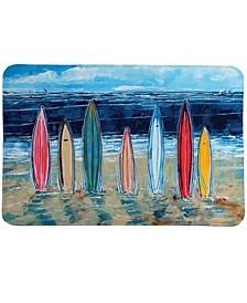 Surfboards Memory Foam Rug