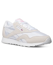 Women's Classic Nylon Casual Sneakers from Finish Line