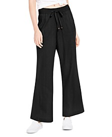 Wide-Leg Beach Pants