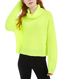 Boxy Turtleneck Sweater