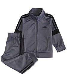 Baby Boys Tricot Jacket & Jogger Pants Set