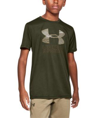 Boys' Print Fill Logo T-Shirt