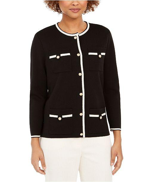 Anne Klein Cardigan Jacket