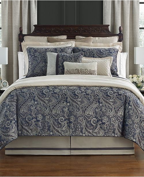 Waterford Danehill Reversible Queen 4 Piece Comforter Set