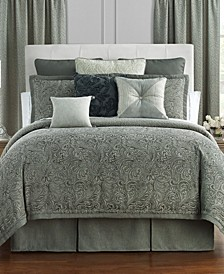 Garner Reversible Queen 4 Piece Comforter Set