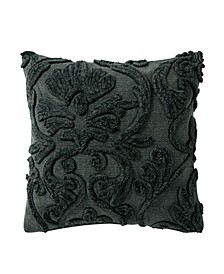 Garner 18 Square Textured Decorative Pillow
