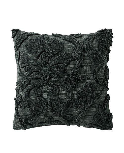 Waterford Garner 18 Square Textured Decorative Pillow