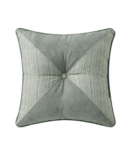 Waterford Garner 18 Square Tufted Decorative Pillow