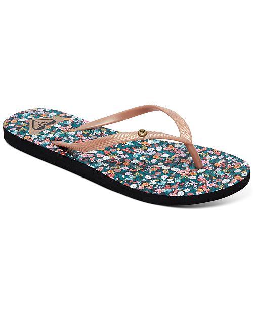 Roxy Bermuda Flip Flop Sandals