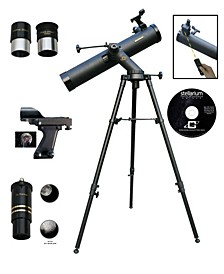 800mm x 80mm Astronomical Tracker Telescope Kit with Electronic Focuser and Remote Control