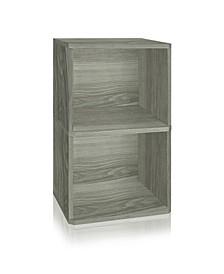 Eco Vinyl Record Cube 2 Shelf