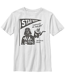 Star Wars Big Boys The Imperial Force Experience The Dark Side Short Sleeve T-Shirt