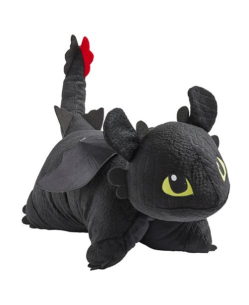 Pillow Pets Nbcuniversal Toothless Stuffed Animal Plush Toy