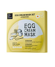 Egg Cream Mask Hydration (Set of 5)