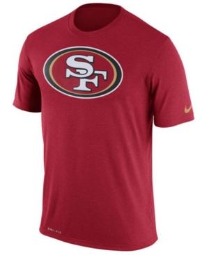 Nike Men's San Francisco 49ers Legend Logo Essential 3 T-Shirt
