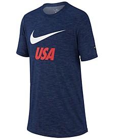 Big Boys USA National Team Slub Preseason T-Shirt