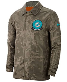 Men's Miami Dolphins Salute to Service Light Weight Jacket