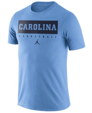 Nike Men's North Carolina Tar Heels Dri-fit Basketball Practice T-Shirt