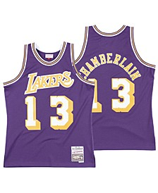 Men's Wilt Chamberlain Los Angeles Lakers Hardwood Classic Swingman Jersey