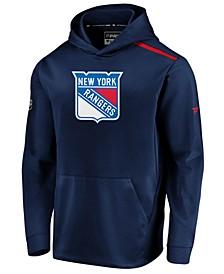 Men's New York Rangers Authentic Pro Rinkside Hoodie
