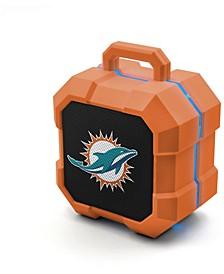 Prime Brands Miami Dolphins Shockbox LED Speaker