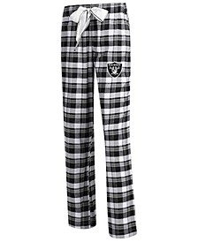 Women's Oakland Raiders Piedmont Flannel Pajama Pants