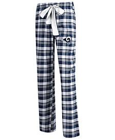 Women's Los Angeles Rams Piedmont Flannel Pajama Pants