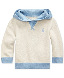 Baby Boys Textured-Knit Hoodie