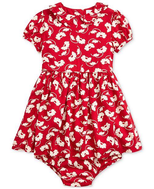Polo Ralph Lauren Baby Girls Floral Dress