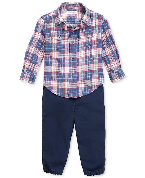 Polo Ralph Lauren Baby Boys Twill Jogger Set