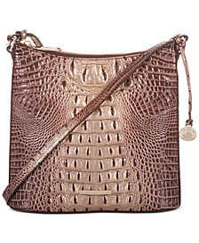 Melbourne Embossed Leather Katie Crossbody