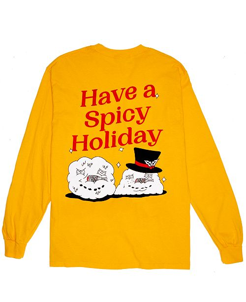First We Feast Hot Ones Spicy Holiday Long-Sleeve