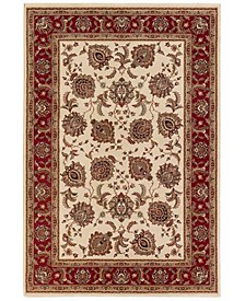Oriental Weavers Round Area Rug, Ariana 117J Tabriz Ivory 8'