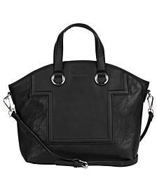 Silver-tone Lining Handbag