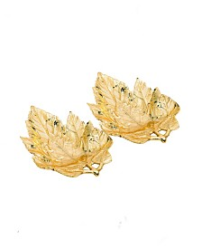 Leaf Candy Dishes, Set of 2