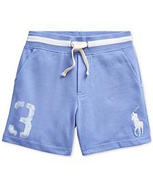 Toddler Boys Big Pony Cotton Mesh Shorts